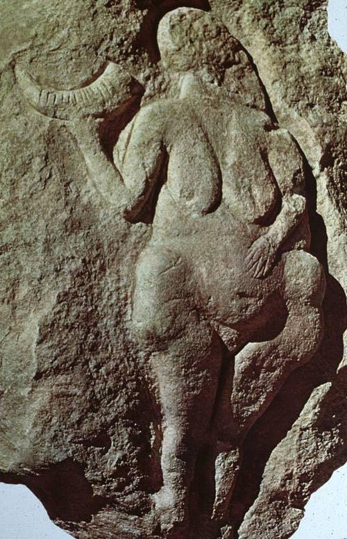 Venus of Laussel 25,000 años